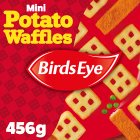 Birds Eye mini potato waffles frozen - 456g