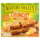 Nature Valley crunchy bars ginger nut crunch