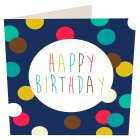 Dots Happy Birthday Card - each