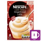 Nescafé café menu gingerbread latte - 8x21g Brand Price Match - Checked Tesco.com 24/11/2014