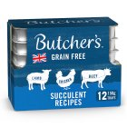 Butcher's Choice succulent meat selection - 12x150g Brand Price Match - Checked Tesco.com 02/12/2013