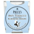 Price's anti-tobacco scented candle - each