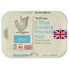 Waitrose British Blacktail large West Country free range eggs - 6s