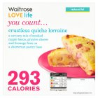 Waitrose LOVE Life you count  Crustless quiche lorraine - 160g