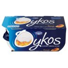 Danone oykos luxury Greek style peach yogurt & fruit - 4x110g Brand Price Match - Checked Tesco.com 05/03/2014