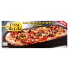 Pizza alla pala spicy beef with jalapeno peppers - 240g