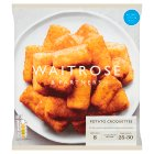 Waitrose potato croquettes - 750g