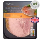 Waitrose British Wiltshire cured orange, rosemary & honey roast ham, 4 slices - 130g