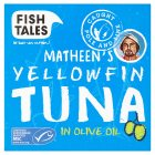 Fish Tales YellowfinTuna in Olive Oil - drained 112g