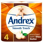 Andrex Touch Of Luxury Shea Butter Toilet Rolls - 4s Brand Price Match - Checked Tesco.com 30/07/2014