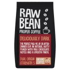 Raw Bean blended ground coffee Latino fusion