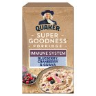 Quaker oat goodness blueberry & guava porridge - 8x35g