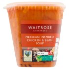 Waitrose LOVE Life mexican yucatan chicken soup - 600g