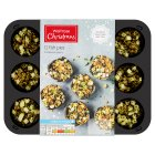 Waitrose Christmas 12 Fish Pies in Charcoal Pastry - 270g