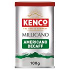 Kenco millicano wholebean instant caff free - 100g Brand Price Match - Checked Tesco.com 05/03/2014