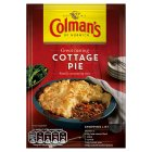 Colman's recipe mix cottage pie