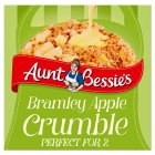Aunt Bessie's apple crumble