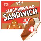 Walls gingerbread sandwich - 4x400ml Introductory Offer