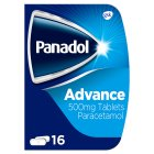 Panadol advance tablets - 16s
