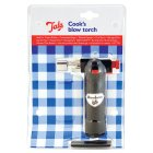 Tala cooks blow torch - each
