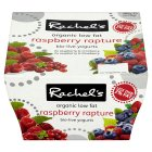 Rachel's organic low fat raspberry rapture yogurts - 4x120g