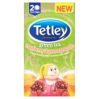 Tetley green tea raspberry 20 tea bags - 40g Brand Price Match - Checked Tesco.com 16/04/2015