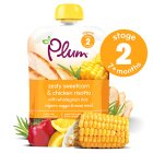 Plum organic lemon chicken & sweetcorn meal - stage 2 - 130g Brand Price Match - Checked Tesco.com 14/04/2014