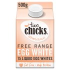 Two Chicks free range liquid egg white - 500g
