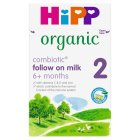Hipp Organic follow on milk (3 - from 6 months onwards) - 800g Brand Price Match - Checked Tesco.com 27/08/2014