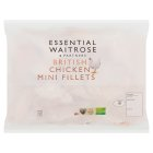 essential Waitrose Frozen British chicken mini fillets - 1kg