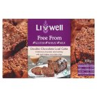 Livwell loaf cake double chocolate
