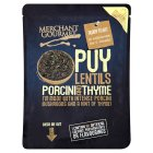 Merchant Gourmet Puy lentils with porcini & thyme - 250g Brand Price Match - Checked Tesco.com 23/04/2014