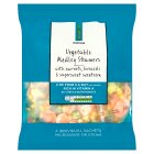 Waitrose LOVE life carrots, broccoli & sweetcorn vegetable mix - 4x160g