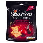 Walkers Sensations Crispy Thins Onions & Balsamic Vinegar - 100g