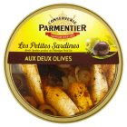 Parmentier Petites Sardines Olives in Olive Oil - drained 110g
