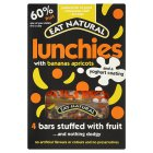 Eat Natural lunchies, banana's, apricots & yogurt bars