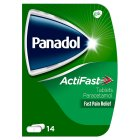 Panadol compack actifast tablets - 14s