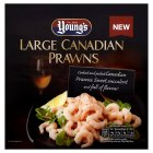 Young's Canadian prawns - 200g