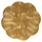 Waitrose Dining Gold Beaded Placemat -