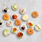 Bread Canapes - 54s