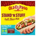 Old El Paso stand stuff soft taco kit - 329g