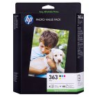 HP 363 series photo value pack