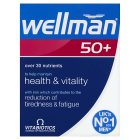 Vitabiotics wellman 50+ - 30s Brand Price Match - Checked Tesco.com 20/08/2014