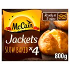 McCain 4 ready baked jackets - 800g New Line