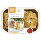 Waitrose Easy To Cook chicken & bacon pancakes - 290g
