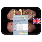 Waitrose British pork fillet with apple butter and parsley -