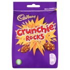 Cadbury Crunchie Rocks chocolate bag - 110g
