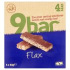 Wholebake 9 bar flax - 4x40g