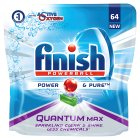 Finish Power & Pure Quantum Max 60 Tablets - 930g