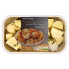 Waitrose ready to roast potatoes with goose fat - 650g